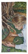 The Seven Spirits Series - The Spirit Of Knowledge Hand Towel