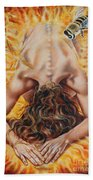 The Seven Spirits Series - The Spirit Of The Fear Of The Lord Hand Towel