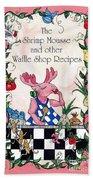 The Shrimp Moose And Other Waffle Shop Recipes Cookbook Calvary Church Memphis Tn Bath Towel