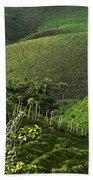 The Soft Hills Of Caizan Bath Towel