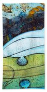 The Song Of The Mermaid Hand Towel
