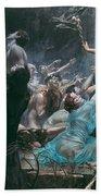 The Souls Of Acheron Bath Towel