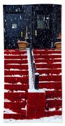 The Spanish Steps Bath Towel