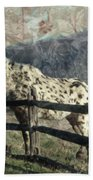 The Speckled Horse Bath Towel