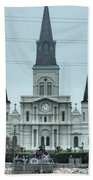 The St.louis Cathedral Bath Towel
