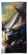 The Storm On The Sea Of Galilee Bath Towel
