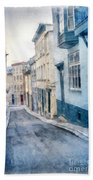 The Streets Of Old Quebec City Bath Towel