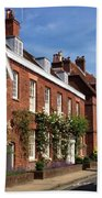 The Streets Of Winchester England Bath Towel