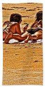 The Suntan Girls Bath Towel