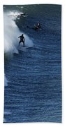 The Surfer  Hand Towel
