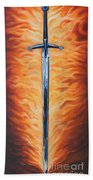 The Sword Of The Spirit Bath Towel