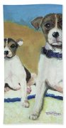 The Terriers Bath Towel