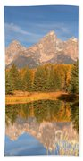 The Tetons Bath Towel