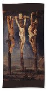 The Three Crosses Bath Towel