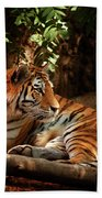 The Tigress  Bath Towel