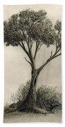 The Tree Quietly Stood Alone Hand Towel