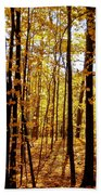 The Trees Through The Forest Bath Towel