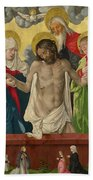 The Trinity And Mystic Pieta Bath Towel