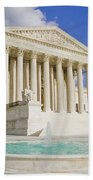 The Us Supreme Court Building Bath Towel