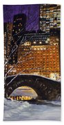 The View From The Bridge Bath Towel