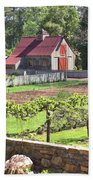 The Vineyard Barn Bath Towel