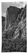 209619-bw-the Watchtower, Wind Rivers Bath Towel