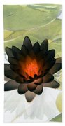 The Water Lilies Collection - Photopower 1034 Bath Towel