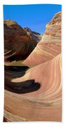 'the Wave' North Coyote Buttes 19 Bath Towel