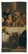 The Wedding At Cana Hand Towel