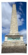The Wellington Monument Bath Towel