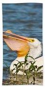The White Pelican Bath Towel