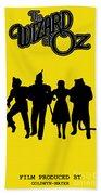 The Wizard Of Oz Bath Towel