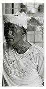 The Worker In Cochin Bath Towel
