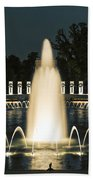 The World War II Memorial Bath Towel