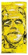 The Yellow Monster Bath Towel