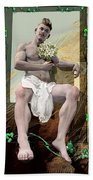 The Young Lover Bath Towel