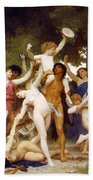 The Youth Of Bacchus Bath Towel