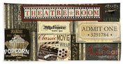 Theatre Room Bath Towel
