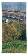 Theodore Roosevelt Bridge, Washington Bath Towel
