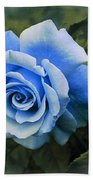 There Were Roses Triptych 2 Bath Towel