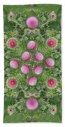 Thistle Star Mandala Bath Towel