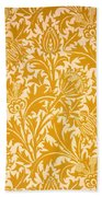 Thistle Wallpaper Design, Late 19th Hand Towel