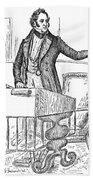 Thomas Hart Benton (1782-1858) Bath Towel