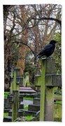Three Ravens Bath Towel