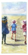 Three Sisters Beach Path Bath Towel