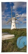Thurne Dyke Windpump Norfolk Bath Towel