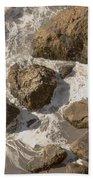 Tide Pools Of Shell Beach California Bath Towel