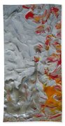Tiger Lilies On The Moon Bath Towel