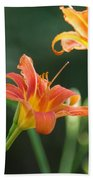 Tiger Lily And Bud   # Bath Towel