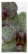 Tiger Orchid Bath Towel